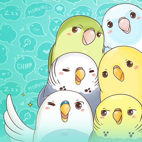 A budgie's life-  a webtoon by Muffin Girl