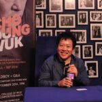 composer Jo Yeong-wook at a signing event