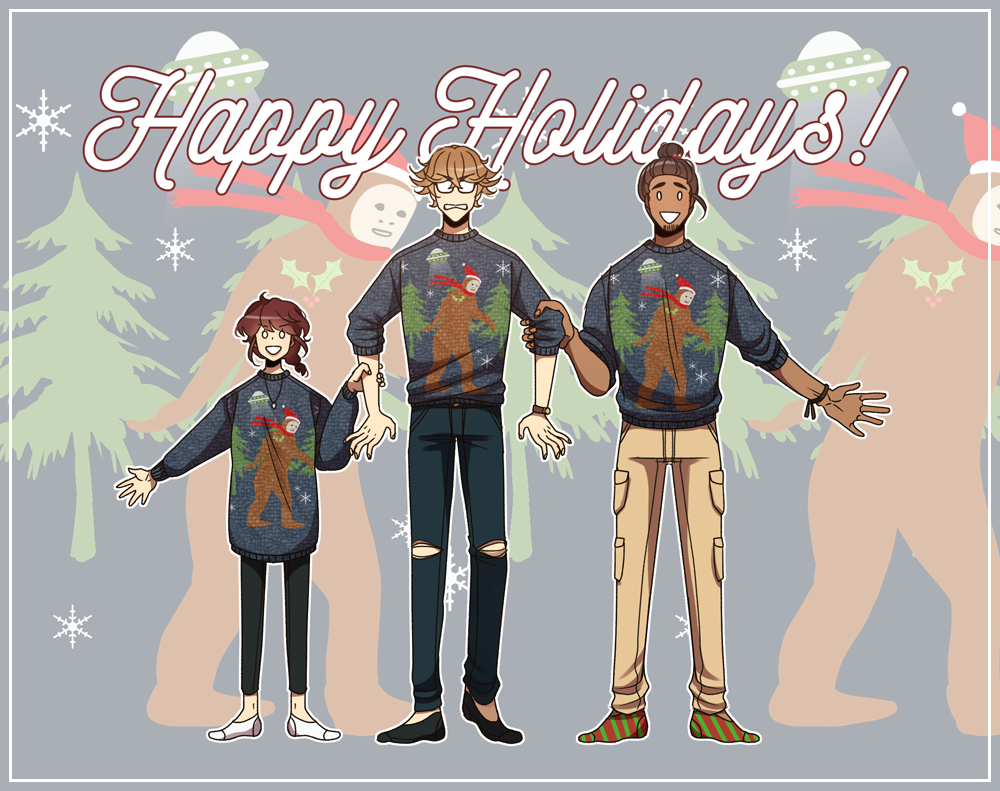 Happy Holidays from Gourmet Hound!